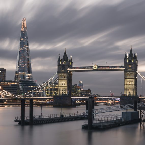 Marco Manzini - The Tower Bridge and The Shard